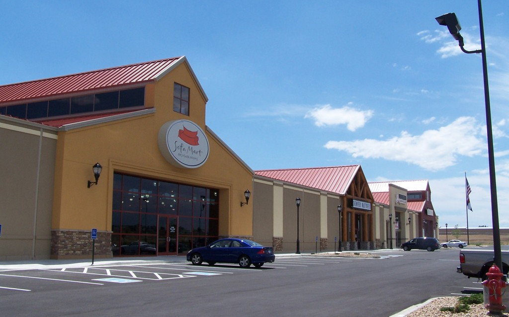 Furniture Row Retail Facility, Sofa Mart Denver